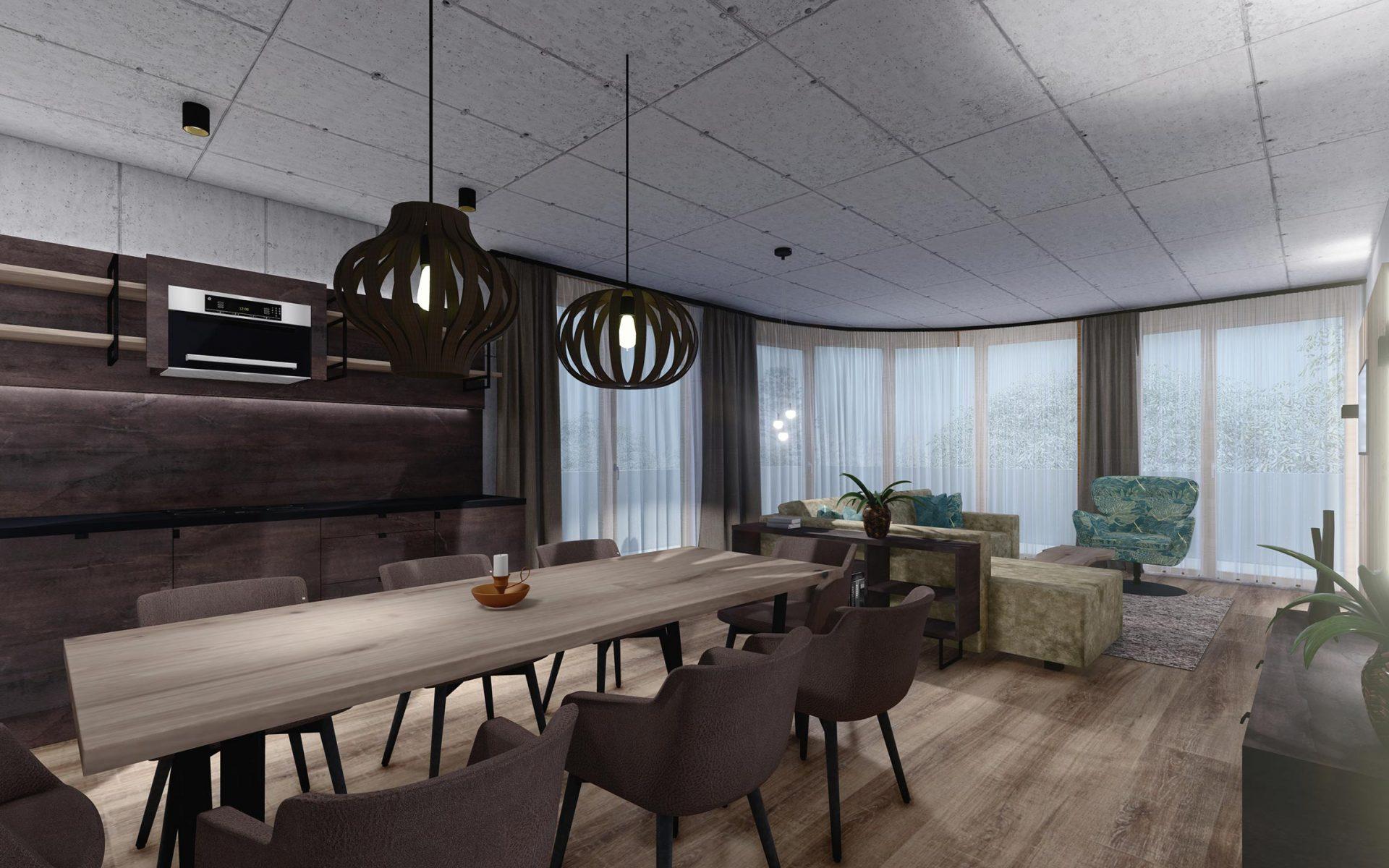 Genießen Sie Urlaub pur in unseren neuen Lifestyle Appartements im Zentrum von Mayrhofen. Unsere Philosophie: Luxuriöser 4 Sterne Komfort, stilvolles Design kombiniert mit Alpinen Lifestyle Elementen. Viel Glas, Sichtbeton, Altholz und edle Stoffe prägen die modern-alpine Architektur der Appartements.